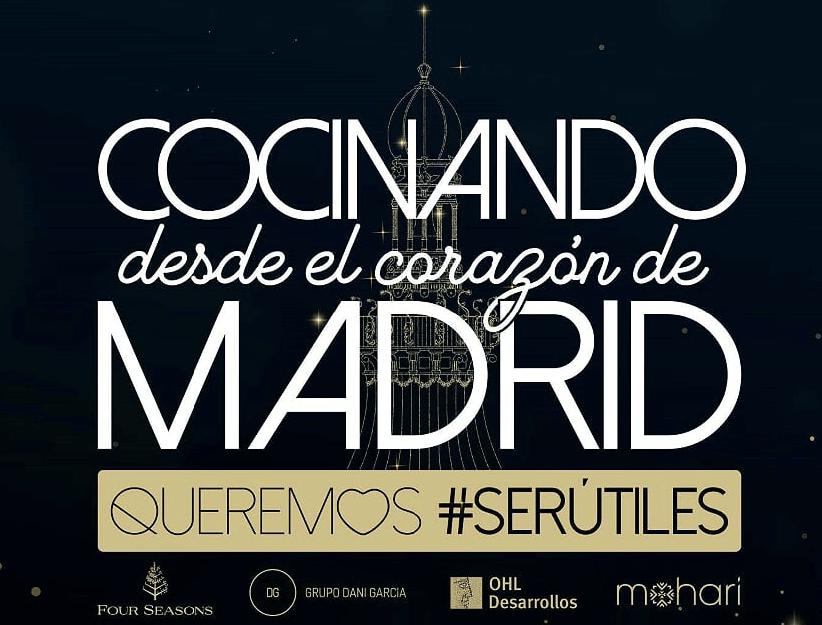 Queremos #serutiles (Grupo Dani García – Four Seasons)